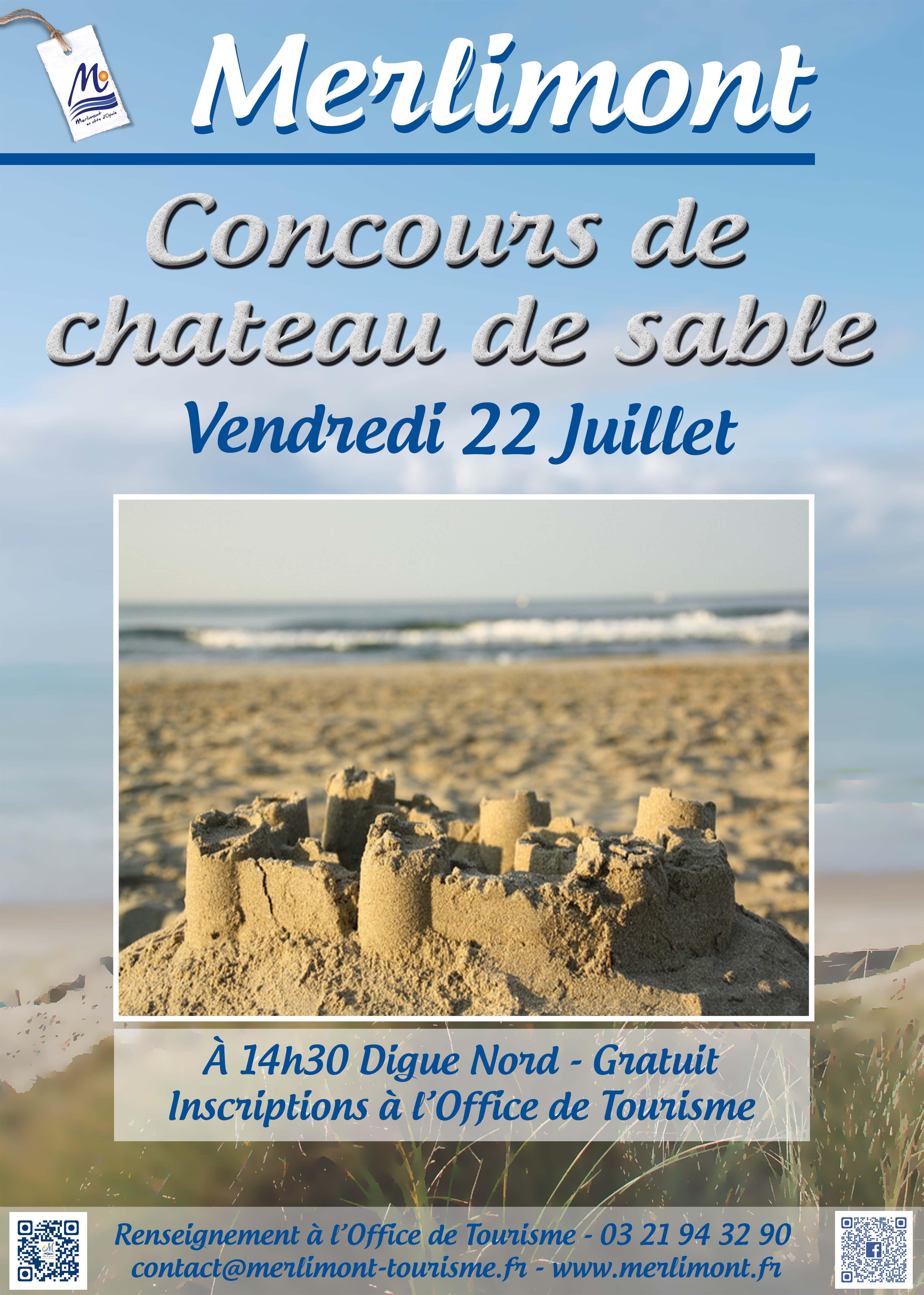 Concours de ch teau de sable merlimont - Office tourisme merlimont ...