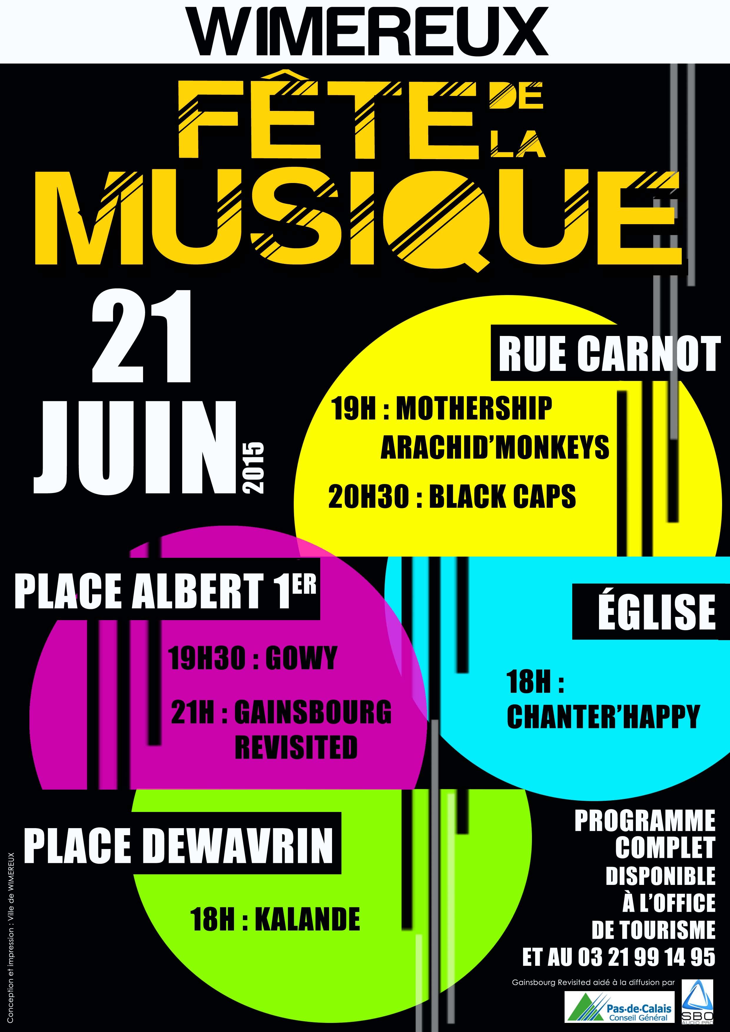 F te de la musique wimereux - Office de tourisme de wimereux ...