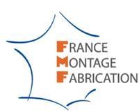 Logo représentant france montage fabrication - sa fmf