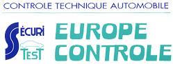 Logo représentant Europe controle marquise - securitest