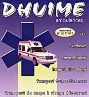Logo représentant Ambulances dhuime