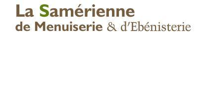Logo représentant Samérienne de menuiserie et d'ebénisterie