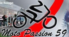 Logo représentant moto passion
