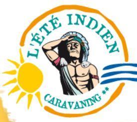 Logo repr�sentant Camping l'�t� indien