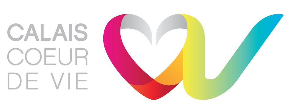Logo représentant calais coeur de vie