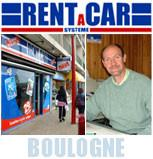 Logo repr�sentant Rent a car