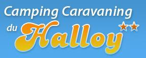 Logo repr�sentant Camping du halloy