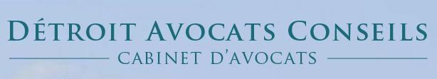 Logo représentant détroit avocats conseils