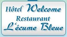 Logo représentant Welcome hotel / restaurant l'ecume bleue