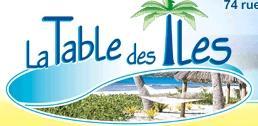 Logo repr�sentant Table des iles (la)