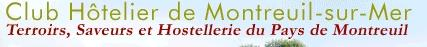 Logo représentant Club hotelier de montreuil sur mer