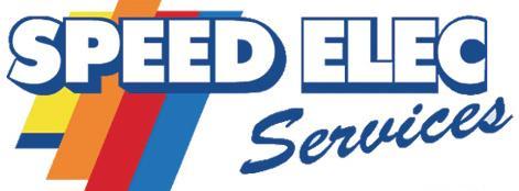 Logo représentant speed elec services