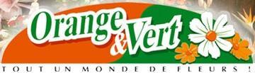 Logo repr�sentant orange et vert