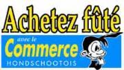 Logo représentant Le commerce hondschootois