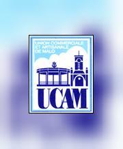 Logo représentant U.c.a.m. union commerciale et artisanale de malo