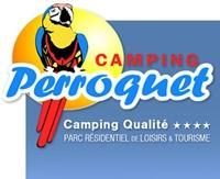 Logo repr�sentant camping le perroquet