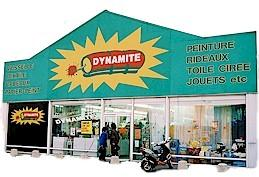 Logo représentant Dynamite guînes
