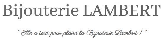Logo représentant bijouterie lambert