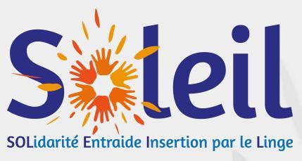 Logo représentant Association soleil