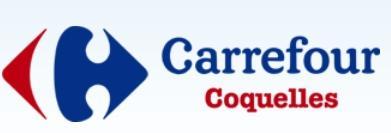 Logo repr�sentant carrefour coquelles