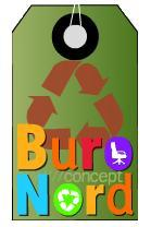 Logo repr�sentant Buro nord concept