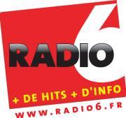 Logo représentant Radio 6 calais