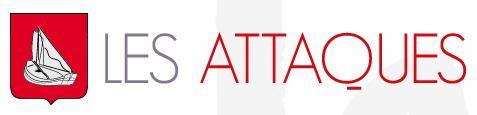 Logo représentant mairie de les attaques