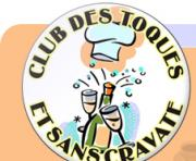 Logo représentant Club des toques et sans cravate