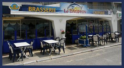 Logo repr�sentant brasserie le dauphin
