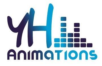 Logo représentant Yh animations