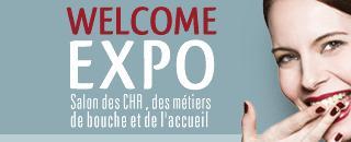 Logo représentant Salon welcome expo