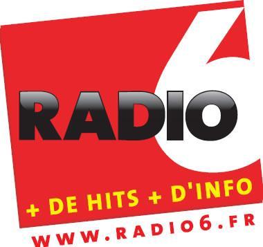 Logo repr�sentant Radio 6 montreuil