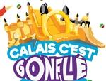 Logo représentant calais c'est gonflé