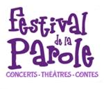 Logo représentant festival de la parole