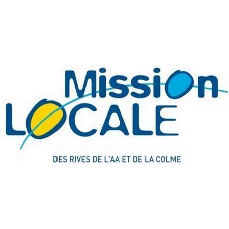 Logo représentant Mission locale des rives de l'aa et de la colme