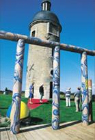 Logo représentant La tour de l'horloge