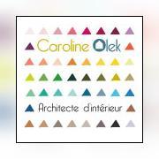 Logo représentant Caroline olek - architecte d'intérieur