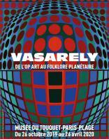vasarely l'op art au folklore planétaire à Le Touquet-Paris-Plage - Opalenews