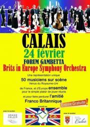 Image illustrant Brits in Europe Symphony orchestra
