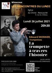 Image illustrant « La trompette à travers l'histoire » par Edouard Monnier, trompettiste