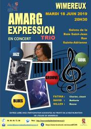 Image illustrant Concert Amarg Expression en Trio