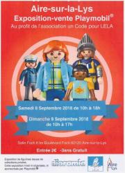 Image illustrant Exposition Vente Playmobil