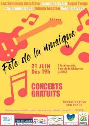 Image illustrant Fête de la musique - Guînes