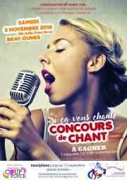"""Image illustrant Concours de chant """" Si ça vous chante """""""