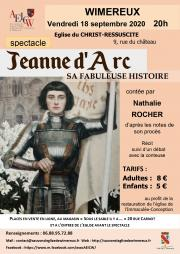 Image illustrant Jeanne d'Arc, sa fabuleuse histoire