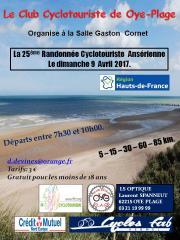 Image illustrant 26e Randonnée Cyclotouriste Ansérienne