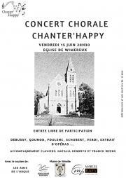 Image illustrant Concert Chanter Happy
