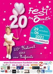 Image illustrant 20ème édition Festi'Mômes 2021