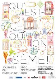 Image illustrant Qu'est-ce qu'on sème au château d'Esquelbecq pour le patrimoine !