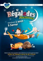 Image illustrant Régalades nocturnes